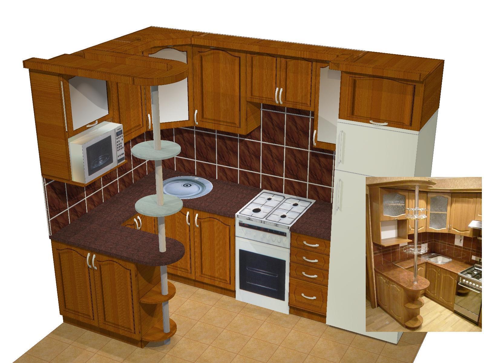 Как самим сделать кухонный гарнитур 902