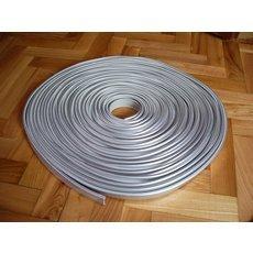 С-кромка на ДСП 18мм серебриста металлик