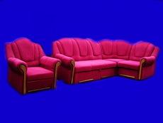 Мягкий уголок с дополнительным креслом.