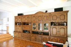 Дубові меблі. Стінка дубова 4,5м (Бельгія)