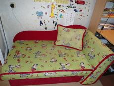Продается детский диван в хорошем состоянии, самовывоз г. Се