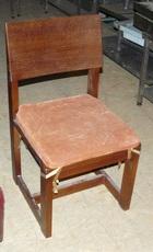 Продам б/у стулья из массива ясеня с подушечкой.