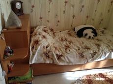 Продам односпальную кровать с тумбой