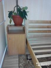 Кровать 160х200 с матрасом и тумбочкой, в отличном состоянии