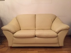 Продам финский кожаный диван
