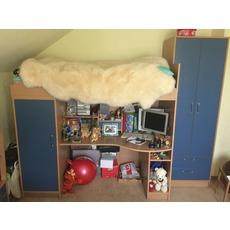 Продам дитяче двоярусне ліжко зі столом