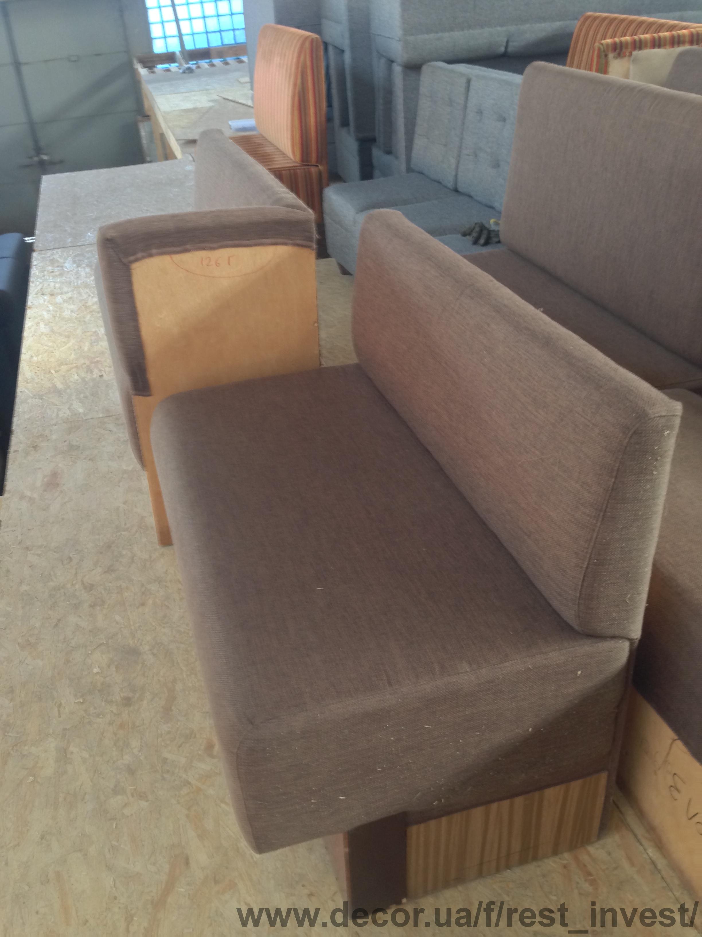 реализация мягкой мебели для зала кафе ресторана бу по вы