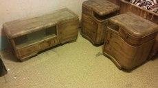 Продам старинную мебель из натурального дерева