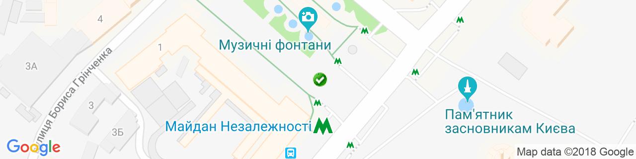 Карта объектов компании Мебельная фабрика РАдеРА