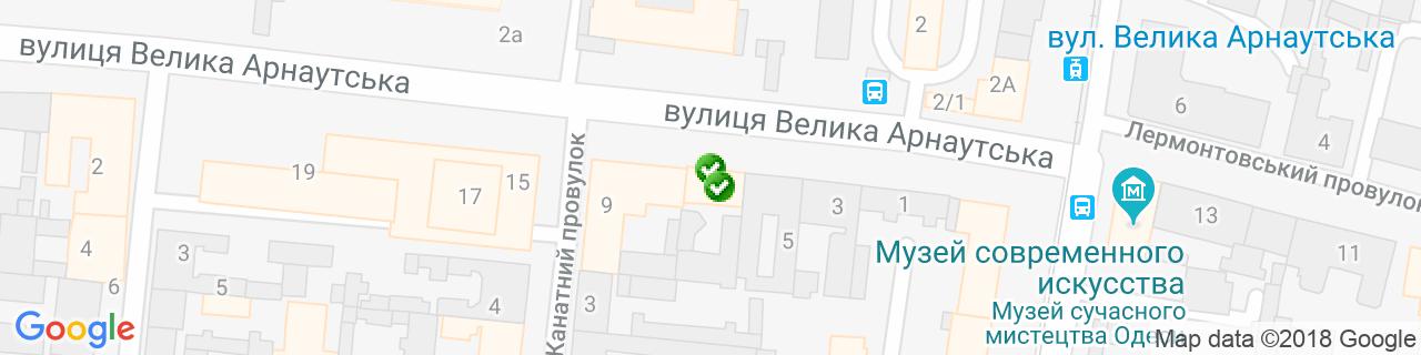 Карта объектов компании Алюминика
