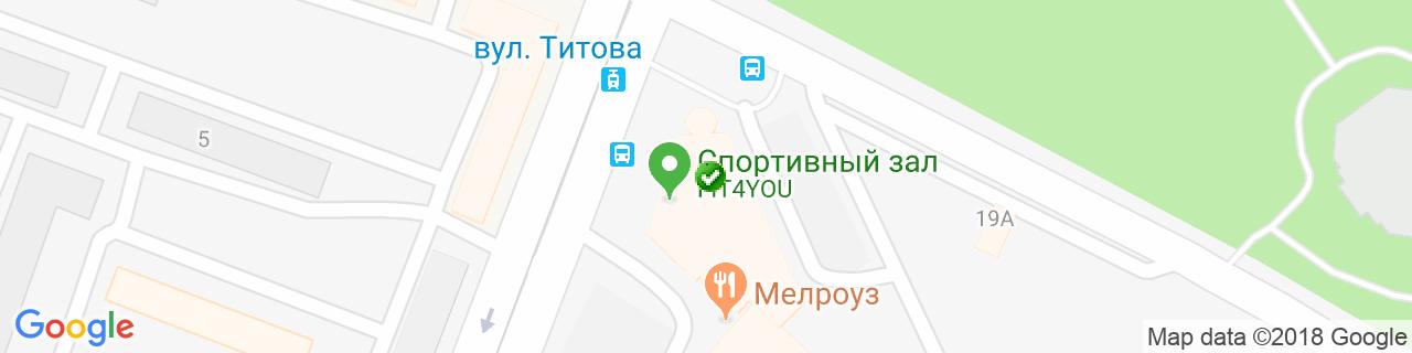 Карта объектов компании Ант-интерьер