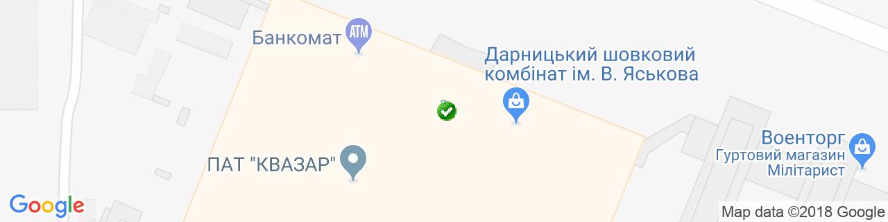 Карта объектов компании АСУ УКРАИНА
