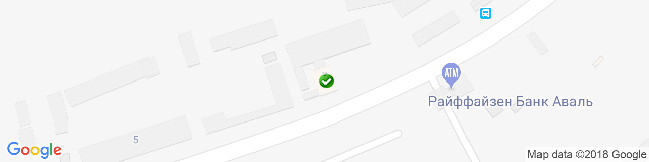 Карта объектов компании РАМУС