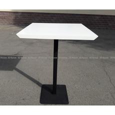 Бу барная мебель для кафе ресторана стол белый барный деревя