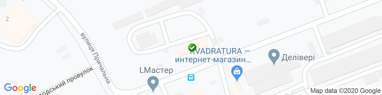 Карта объектов компании SoNLaB